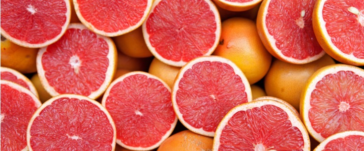best foods for cold season: grapefruits