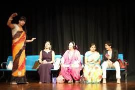 Ladies Compartment - English Hindi Play by Theatre On Bengaluru (TOB) (2)