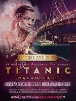 Titanic Masquerade   Halloween San Francisco Party Cruise Tickets