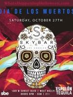 Skybar Mondrian Halloween Party