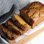 Pumpkin Bread with Honey and Chocolate Chunks