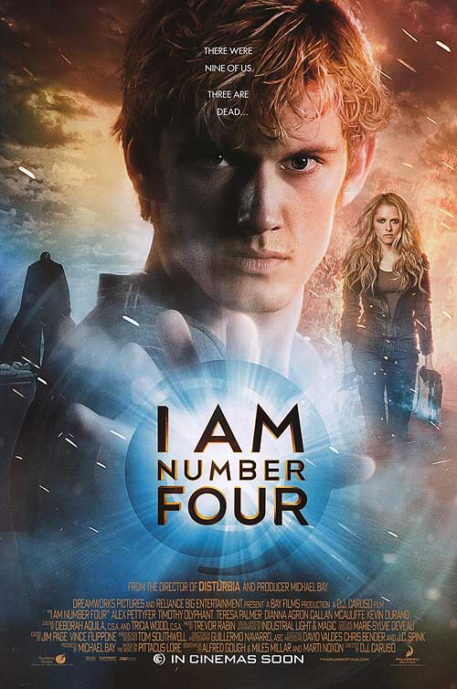 Film Review: I Am Number Four starring Alex Pettyfer