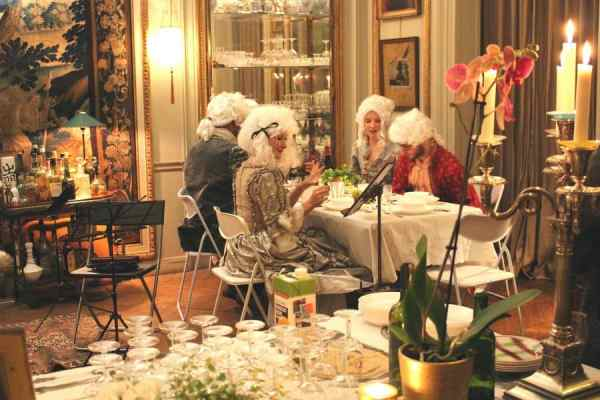 TRAVEL BACK IN TIME TO THE 18TH CENTURY PARISIAN SALON