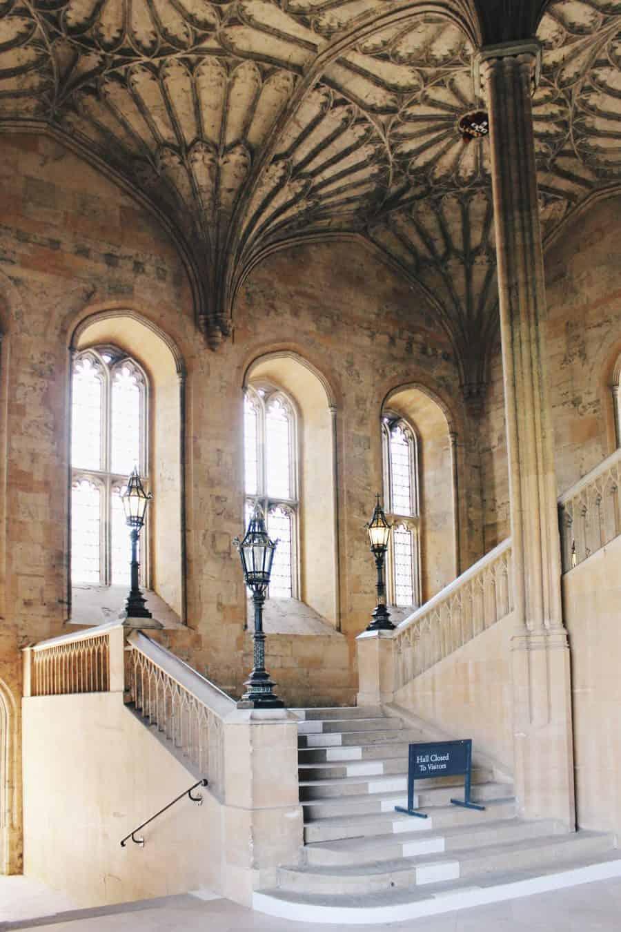 The Harry Potter Tour Of Oxford University - Christ Church Harry Potter Steps