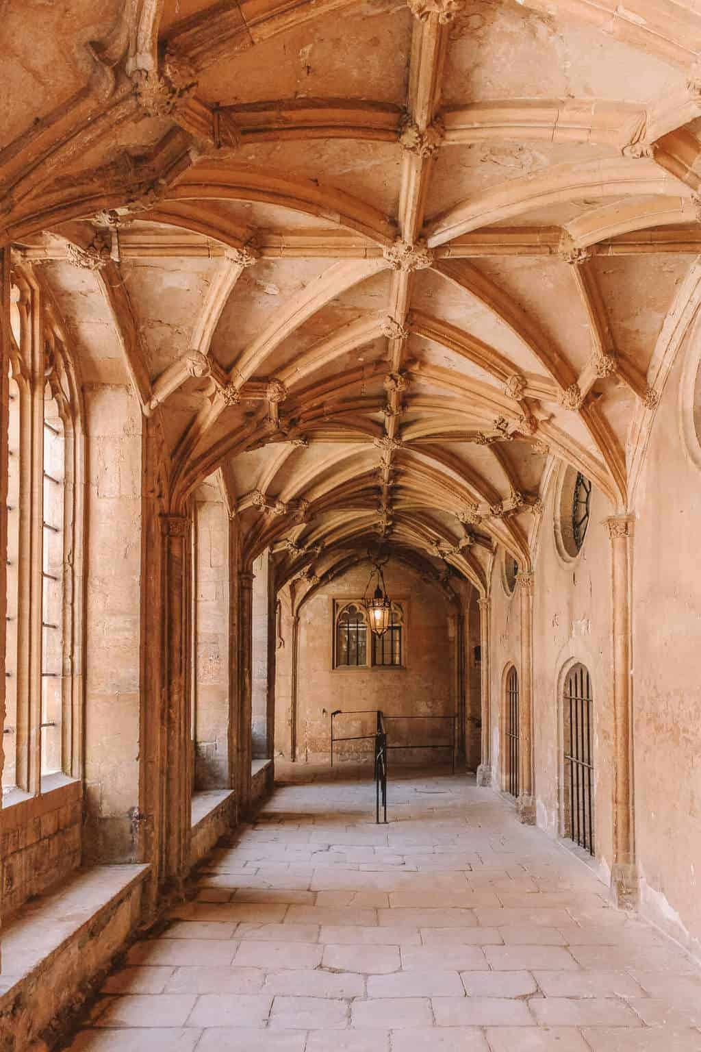 15 Things You Didn't Know About Christ Church, Oxford University - Cloisters