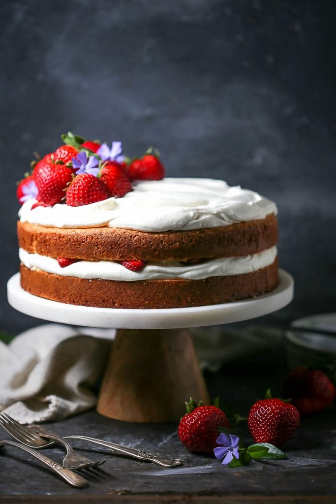 Strawberry And Whipped Cream Cake What Should I Make For