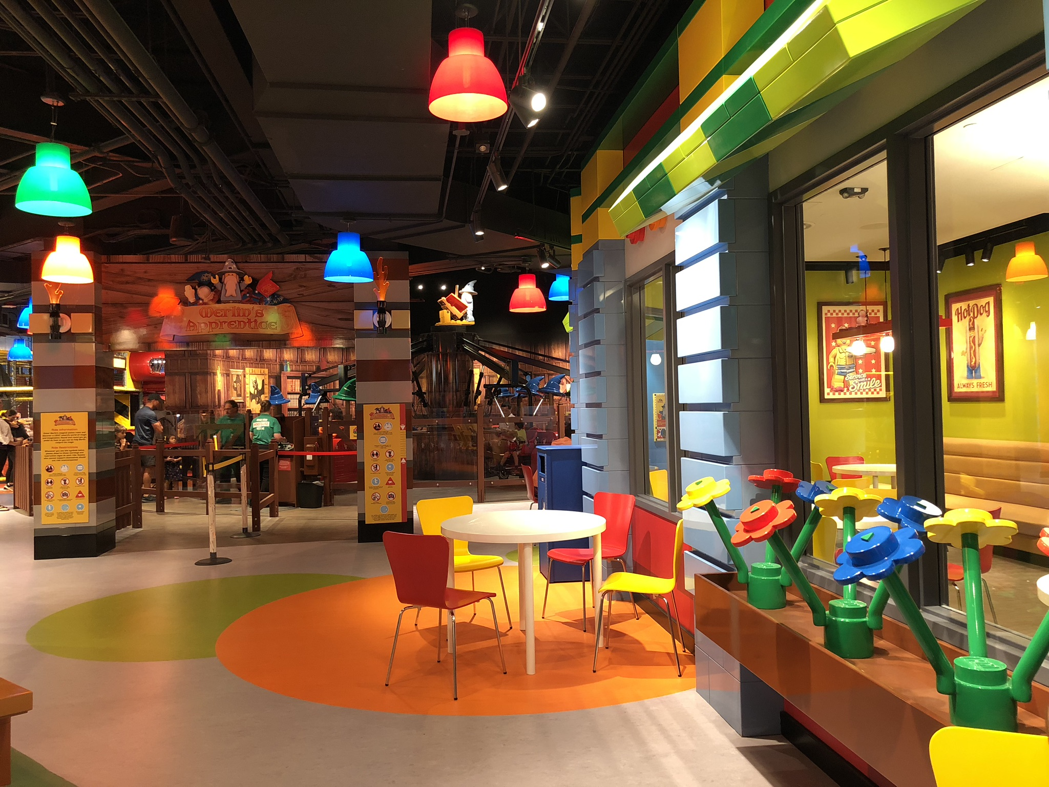 Places Eat Where Kids Can Play