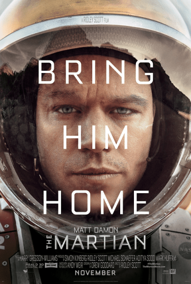 The Martian, Movie