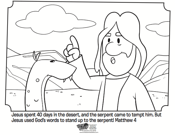 jesus tempted bible coloring pages what 39 s in the bible