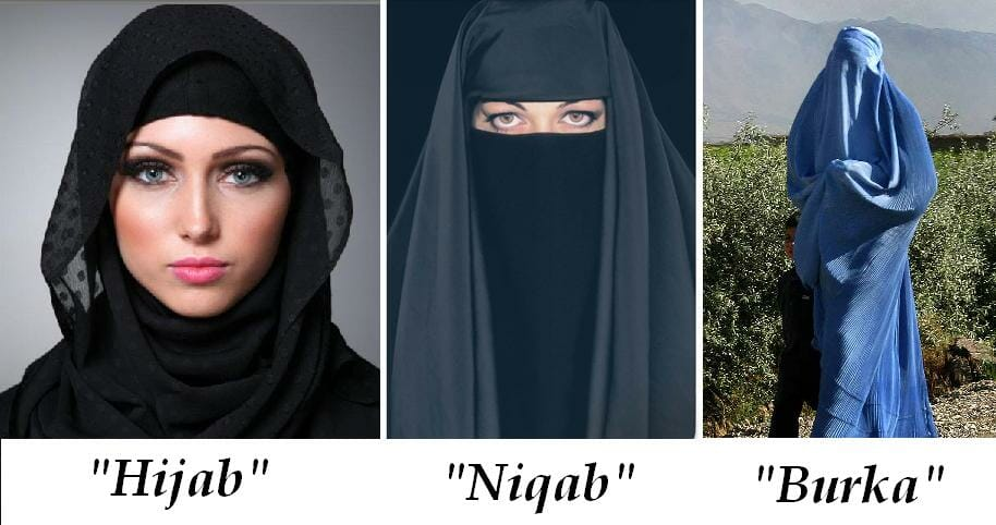 Hijab,, niqab and burka images on What to wear in Saudi Arabia