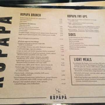 Covent Garden Brunch @ Kopapa