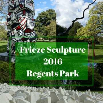 Frieze Sculptures Regents Park + JORD Giveaway!