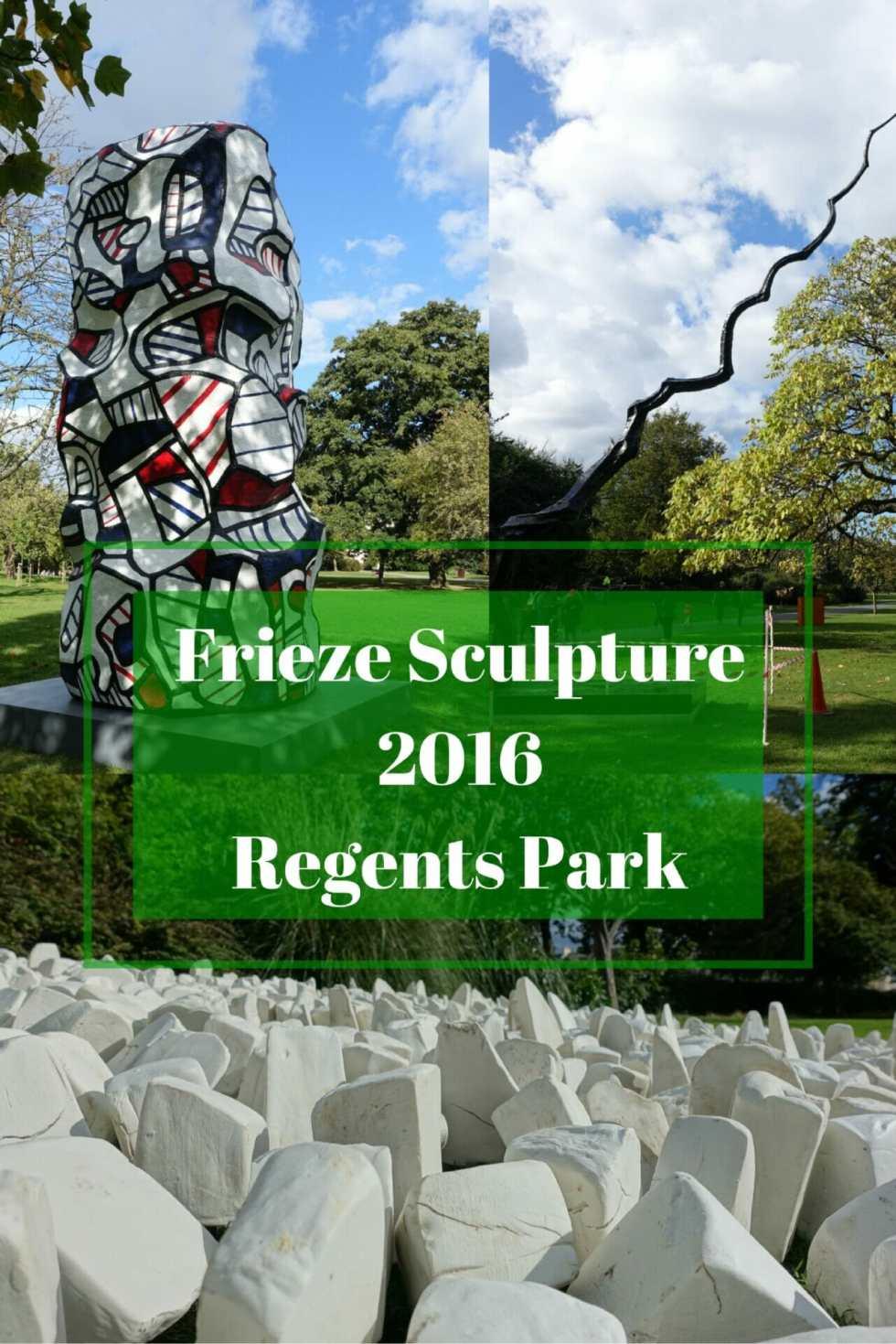 Frieze Sculpture Regents Park on What's Katie Doing? blog