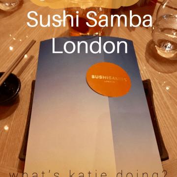 Girls dinner @ Sushi Samba