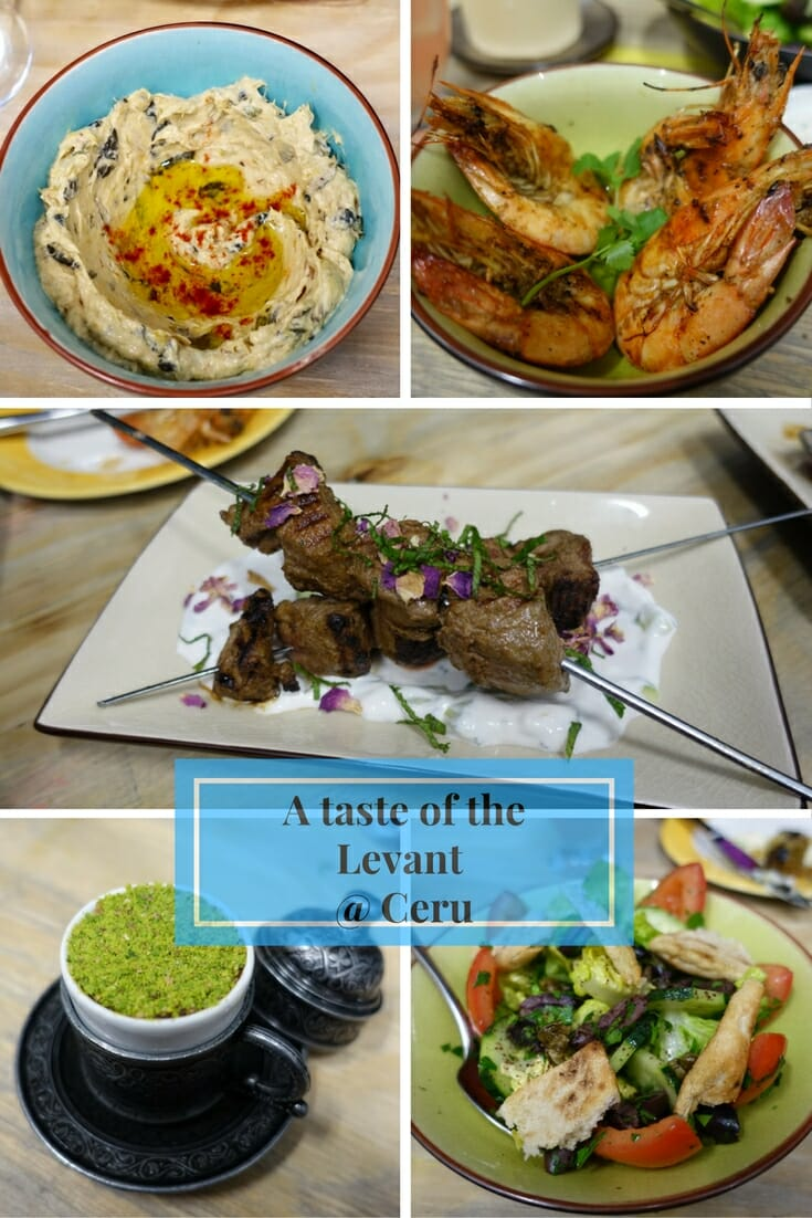 A taste of the Levant @ Ceru on What's Katie Doing? blog