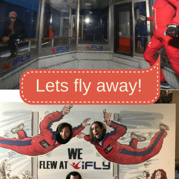Let's fly away – indoor sky diving with iFLY