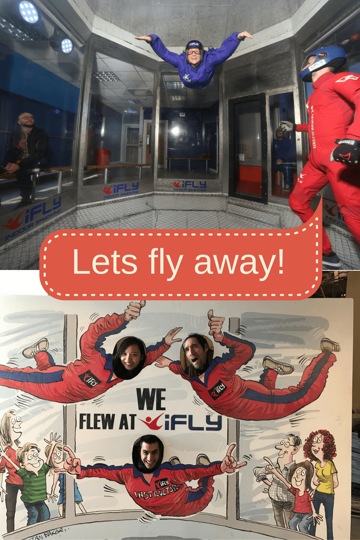 Lets fly away with iFLY on What's Katie Doing? blog
