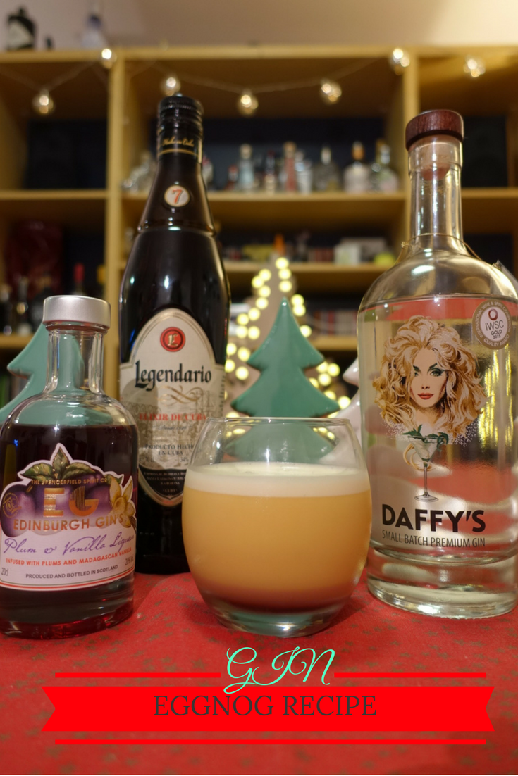 Eggnog recipe on What's Katie Doing? blog