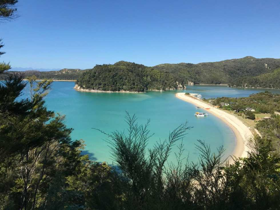 Abel Tasman: New Zealand's 9 Great Walks on What's Katie Doing? blog