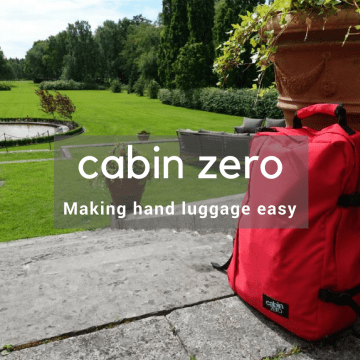 Cabin Zero making hand luggage easy