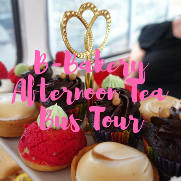 B-Bakery afternoon tea bus tour