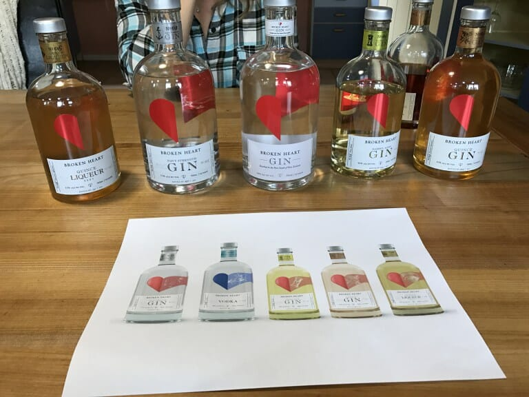 Best Christmas Gins of 2017 on Whats Katie Doing?
