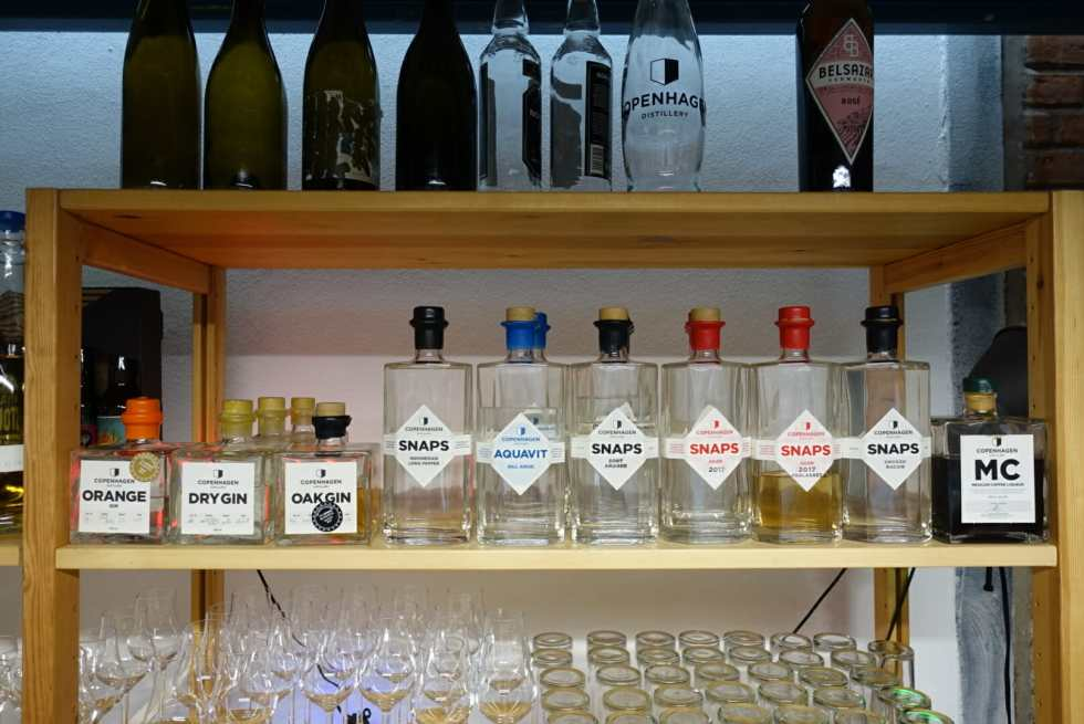The full range of Copenhagen Distillery products available to buy.