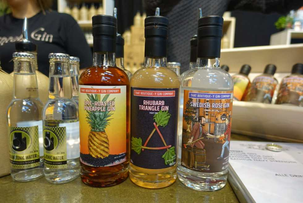 Boutiquey Gin Company gins