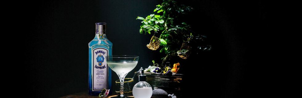 Bombay Sapphire Glasshouse Residence at London Cocktail Week 2018