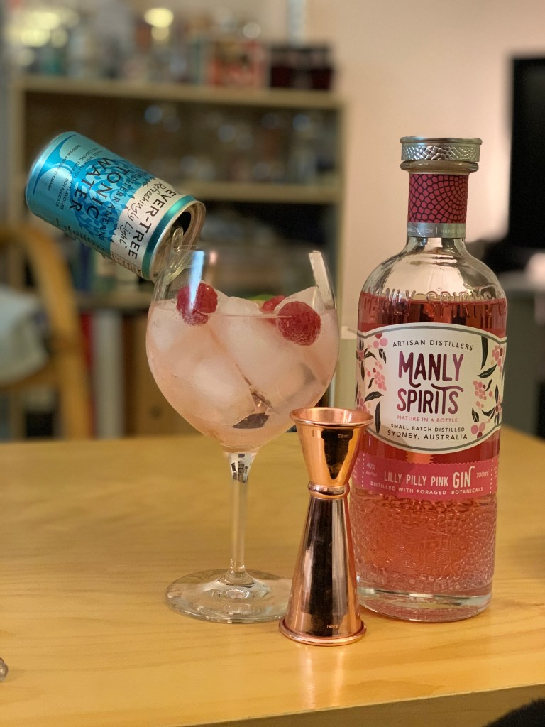 Lilly Pilly gin perfect serve