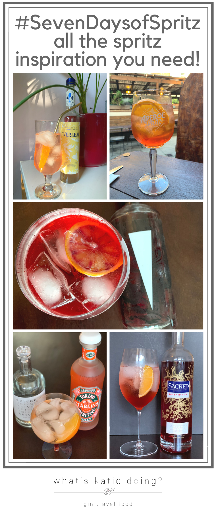 Get inspired to make and drink spritz cocktails this summer