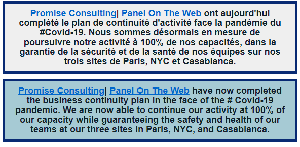 chine, coronavirus, pandemie, panel on the web, promise consulting