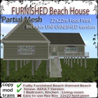 FURNISHED Beach House