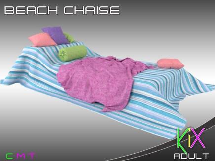 KiX Beach Chaise [A]