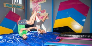 What's On get put through their paces at Bounce Dubai in Al Quoz