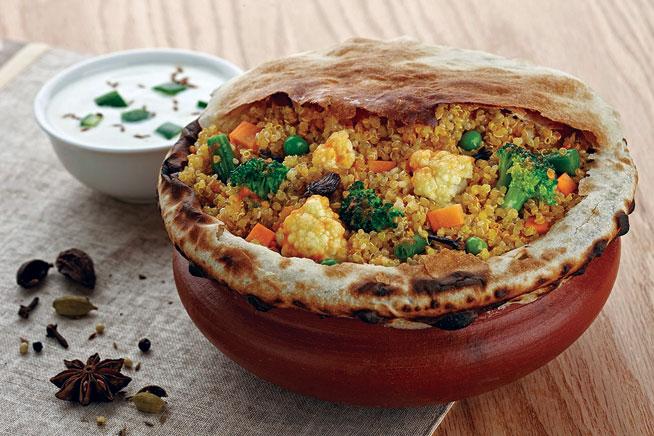 Best dishes in Dubai - Quinoa biryani at Biryani Pot