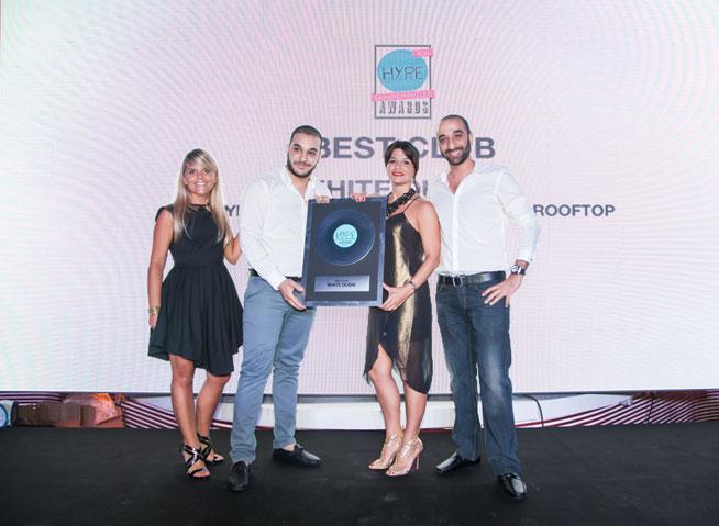 Hype Music & Nightlife Awards at EDEN Beach Club - WHITE Dubai, best club