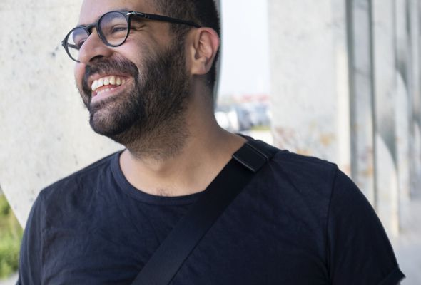 Khalid Mezaina Independent artist designer and illustrator to hold a talk on 15th May 8 awesome things to do in Dubai this week - Dubai
