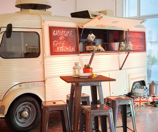 Food trucks in Dubai - Ghaf Kitchen