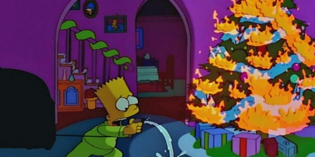 Resultado de imagen para the simpson christmas episode 2019
