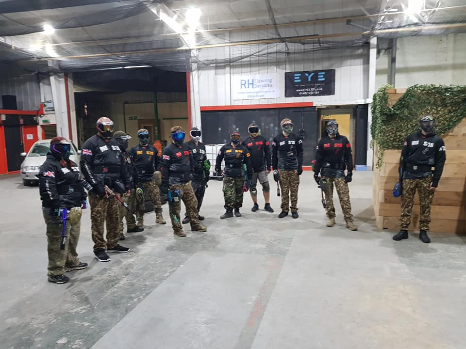 Storm Paintball Hull - Team Paintballing Session