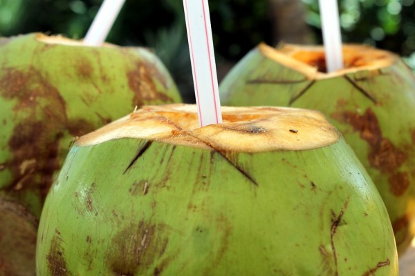 Refreshing Coconut Water Coco Cocktail Drink