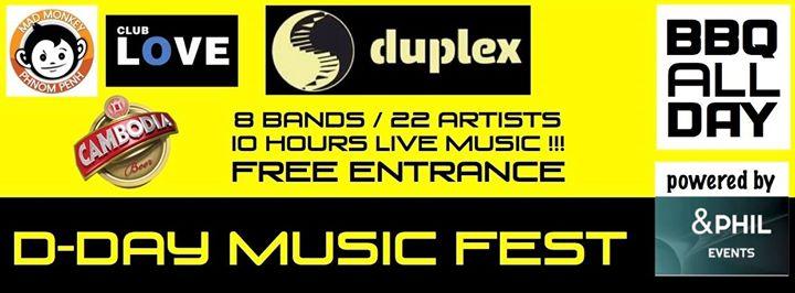 dday duplex music fest