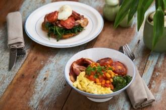 Breakfast Stack and Breakfast Bowl - Delightful!