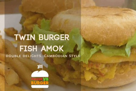 double amok fish burger