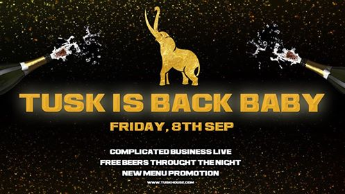 tusk is back baby