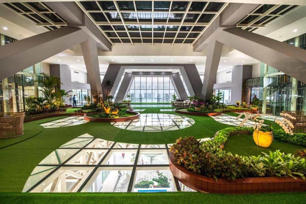 Dara Hotel Cambodia indoor garden