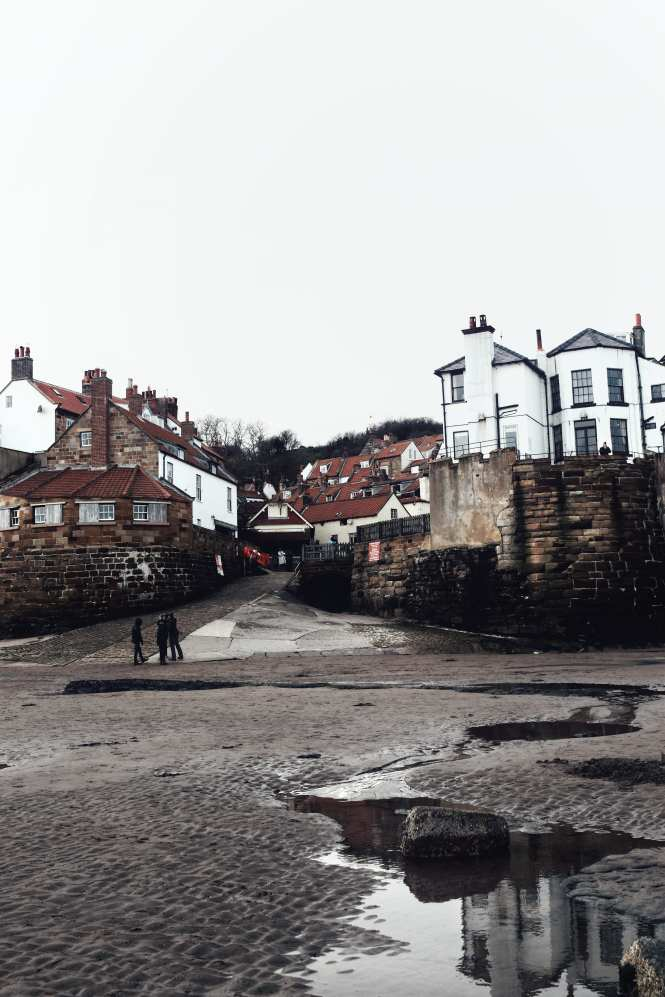 Robin Hoods Bay, North Yorkshire coast fishing village. One of the most beautiful villages in Yorkshire.