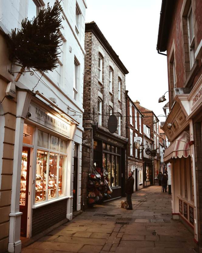 The Beautiful, Historic Streets of Whitby, Yorkshire
