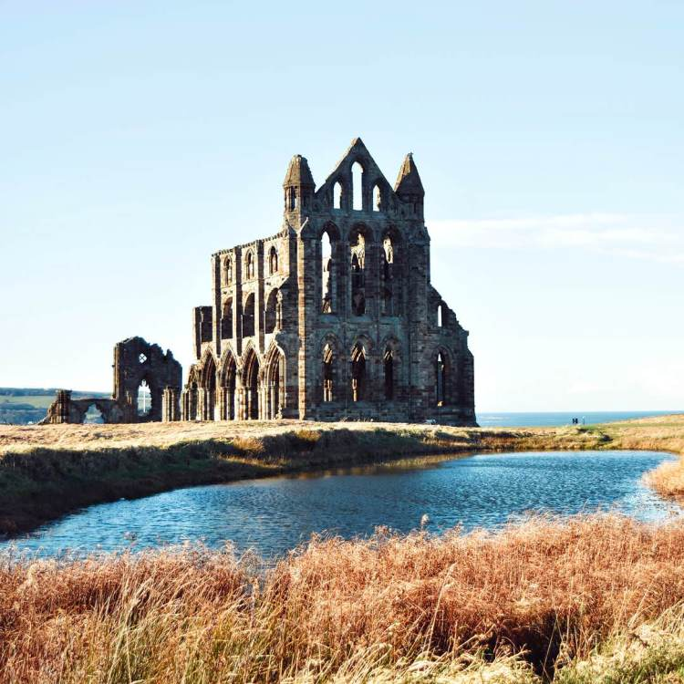 Whitby Abbey - In one of the most beautiful villages in North Yorkshire